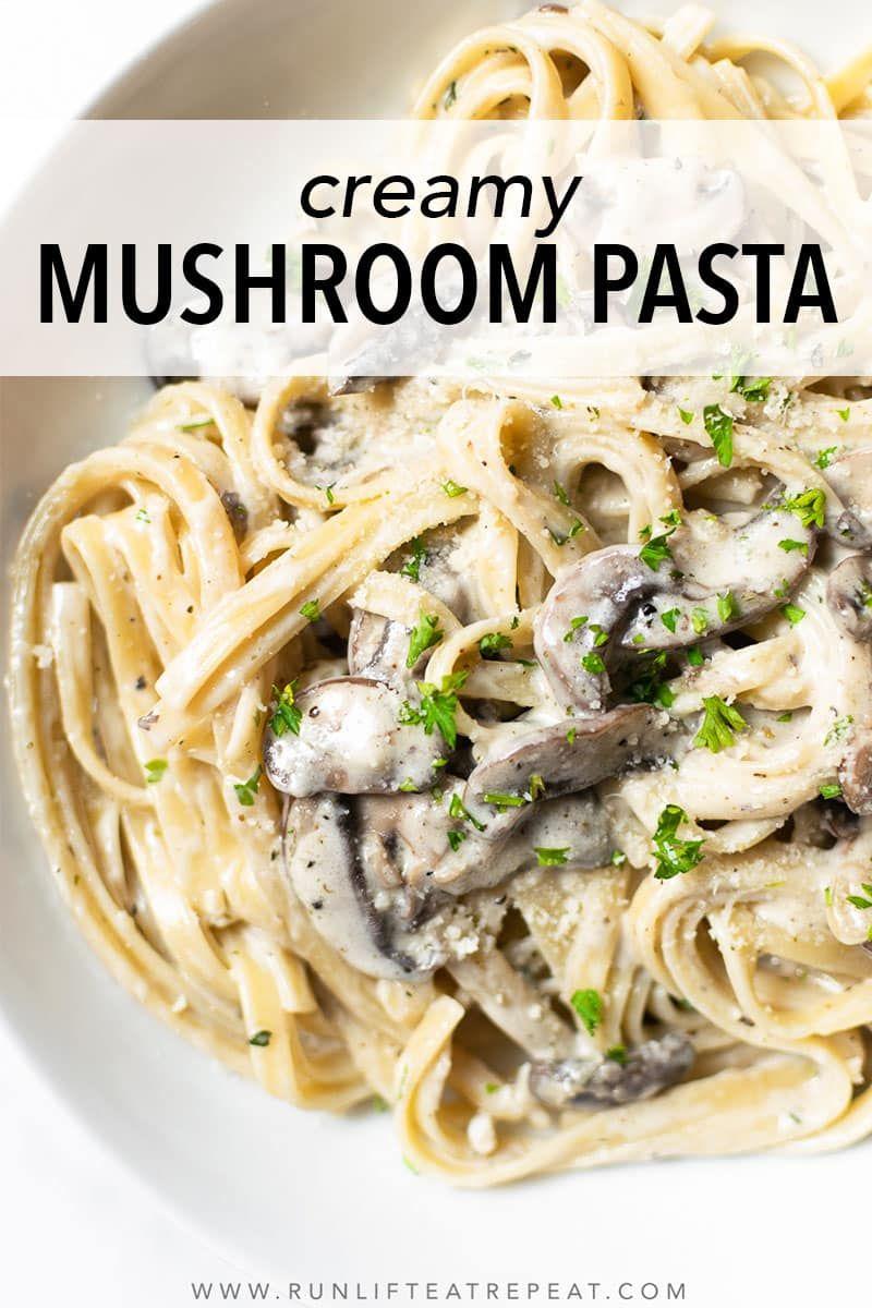 Creamy Mushroom Pasta Recipe Mushroom Pasta Creamy Mushroom Pasta Delicious Healthy Recipes