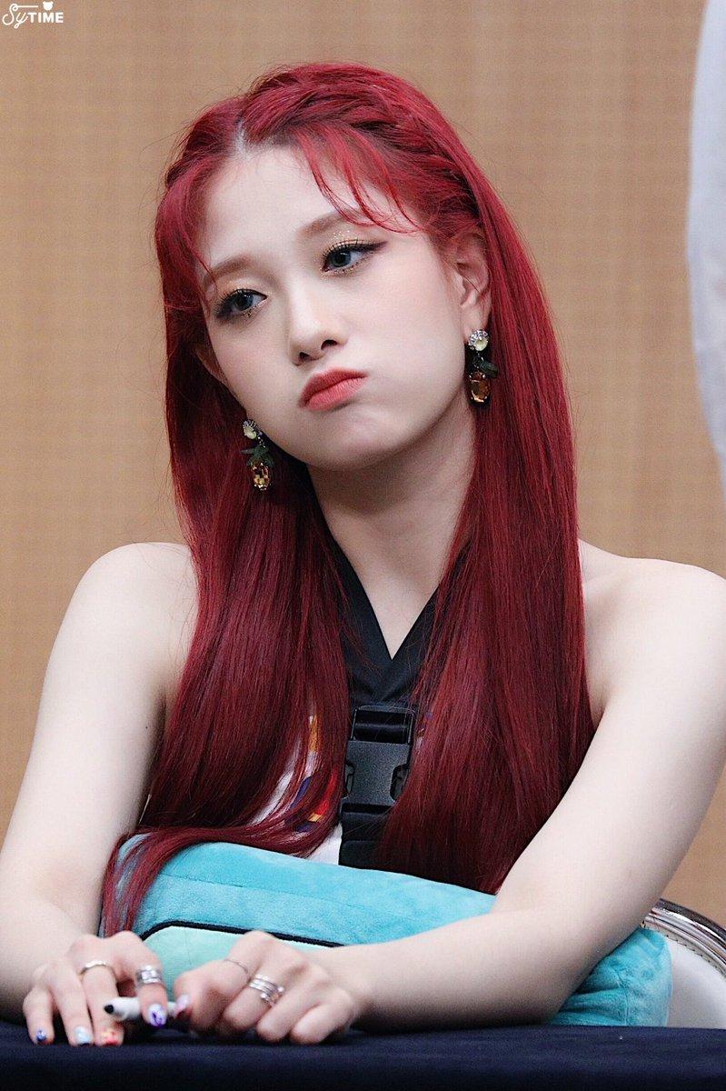 Nayeon Bias Wrecker Kpop Hair Color Red Hair Korean Kpop Hair