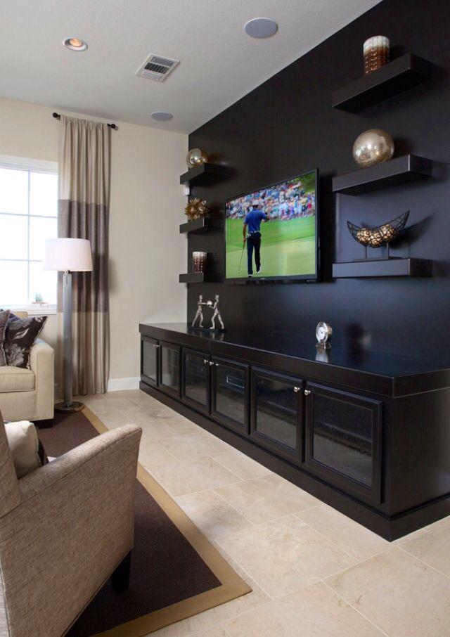Tv Wall Media Room Design Living Room Tv Wall