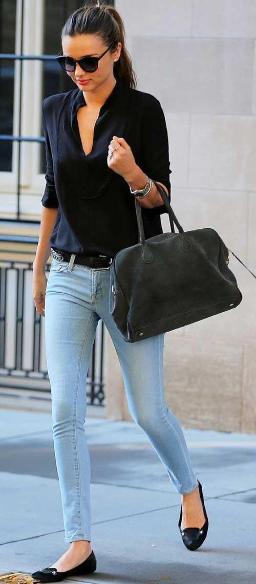 Sade Ve şık Kot Kombini Kıyafet Pinterest Fashion Style Ve