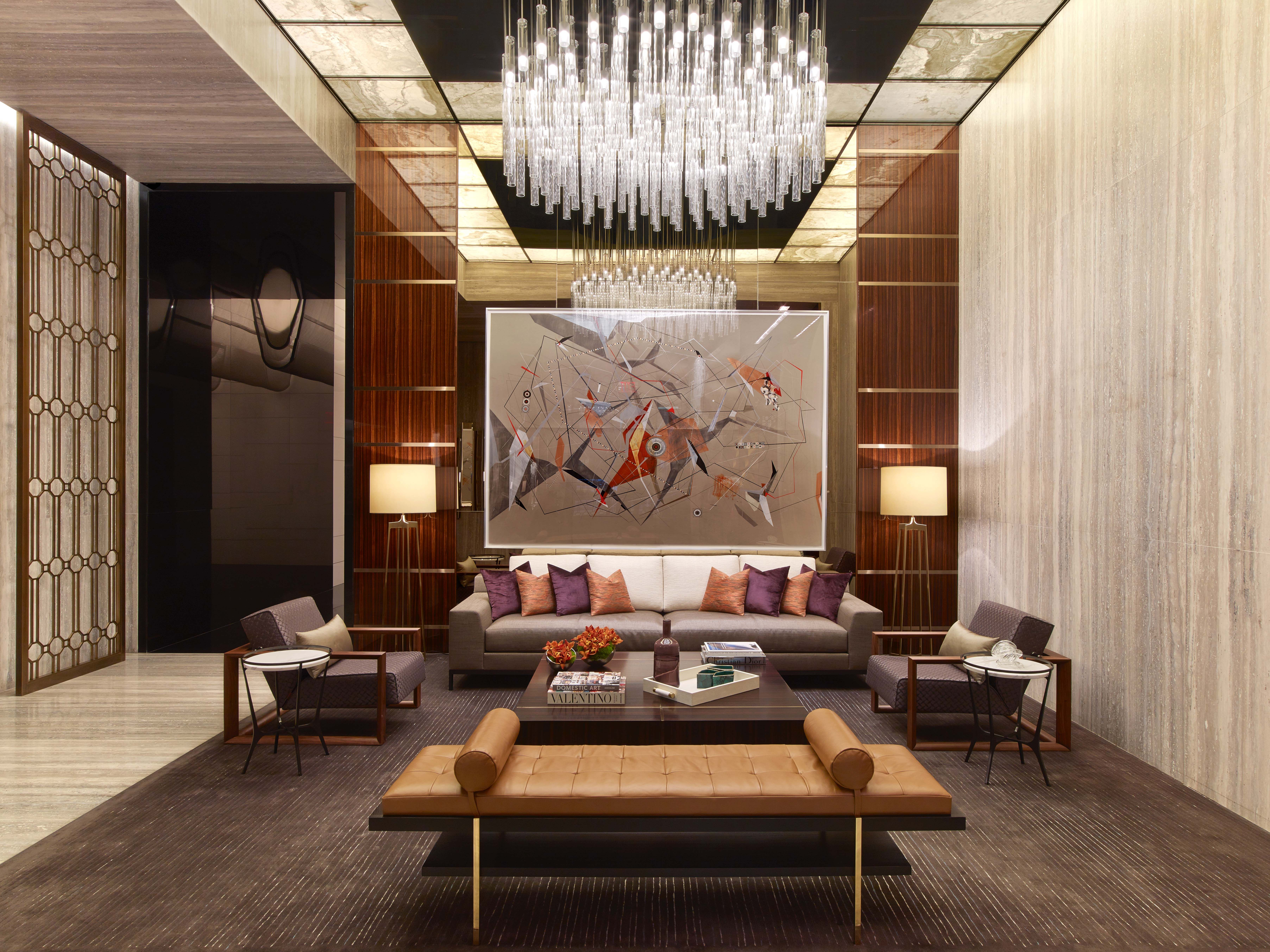 One57 Lobby I Designed by Jeffrey Beers International