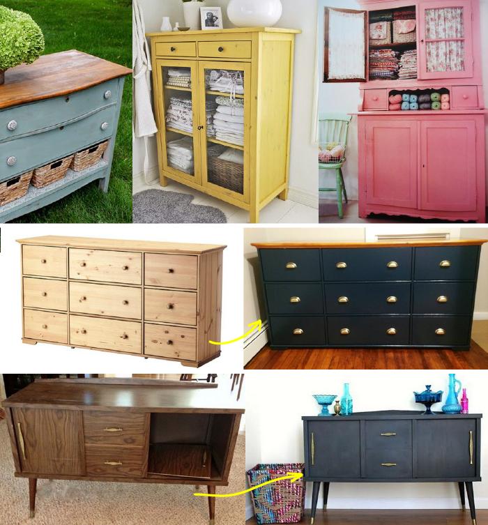 Reciclá tus muebles - 10 ideas para decorar tu casa con poco dinero ...