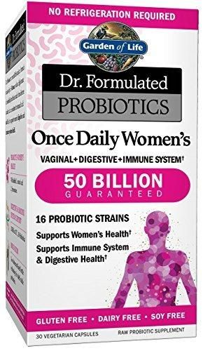 Garden Of Life Probiotics Supplement For Women Dr Formulated Once Daily Women S For Digestive And Gut Health Shelf Stable 30 Capsules Probiotics Probiotics Supplement Coconut Health Benefits