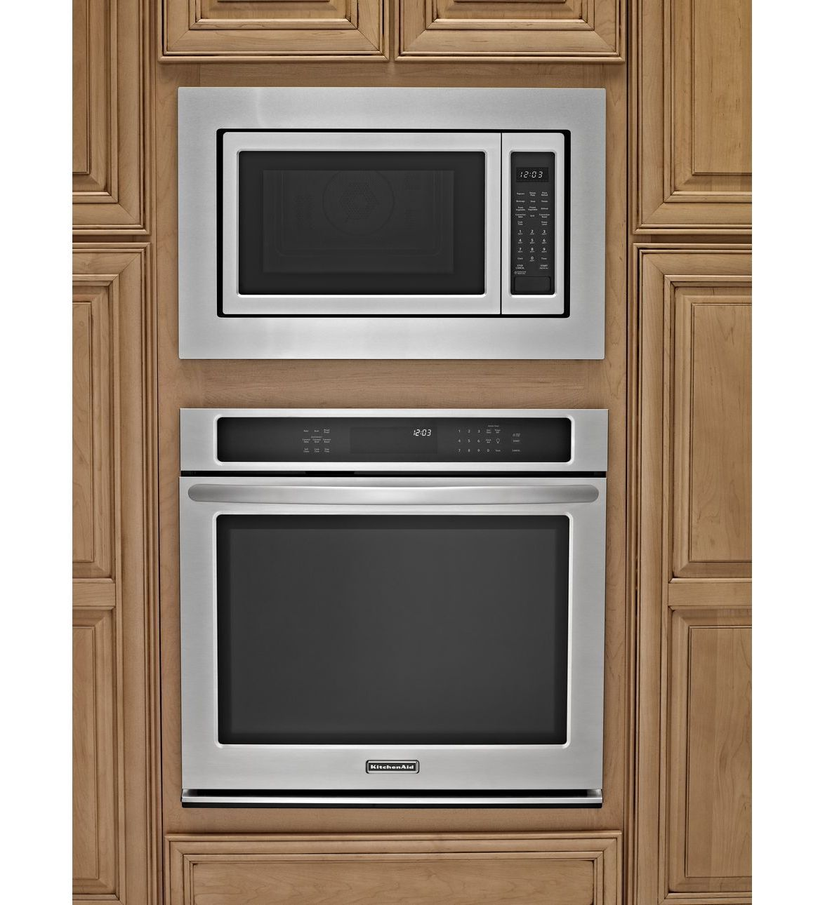 Kitchenaid Countertop Convection Microwave Oven Architect Series Ii Stainless Steel Home Depot Canada