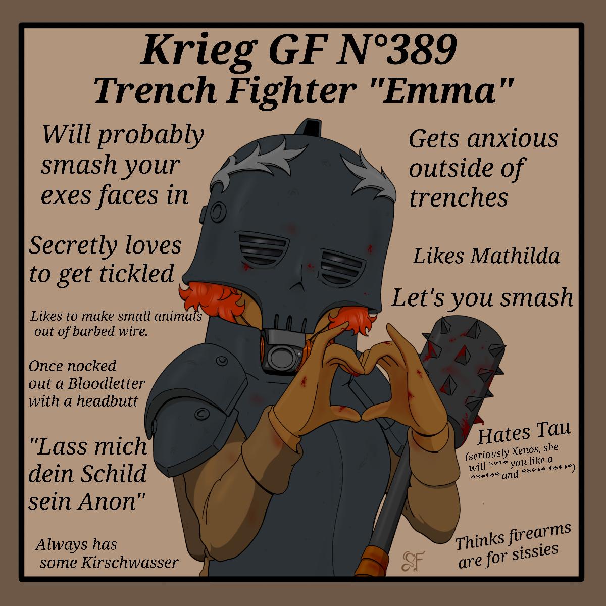 Trench Fighter Emma by TechmagusKhobotov on DeviantArt ...