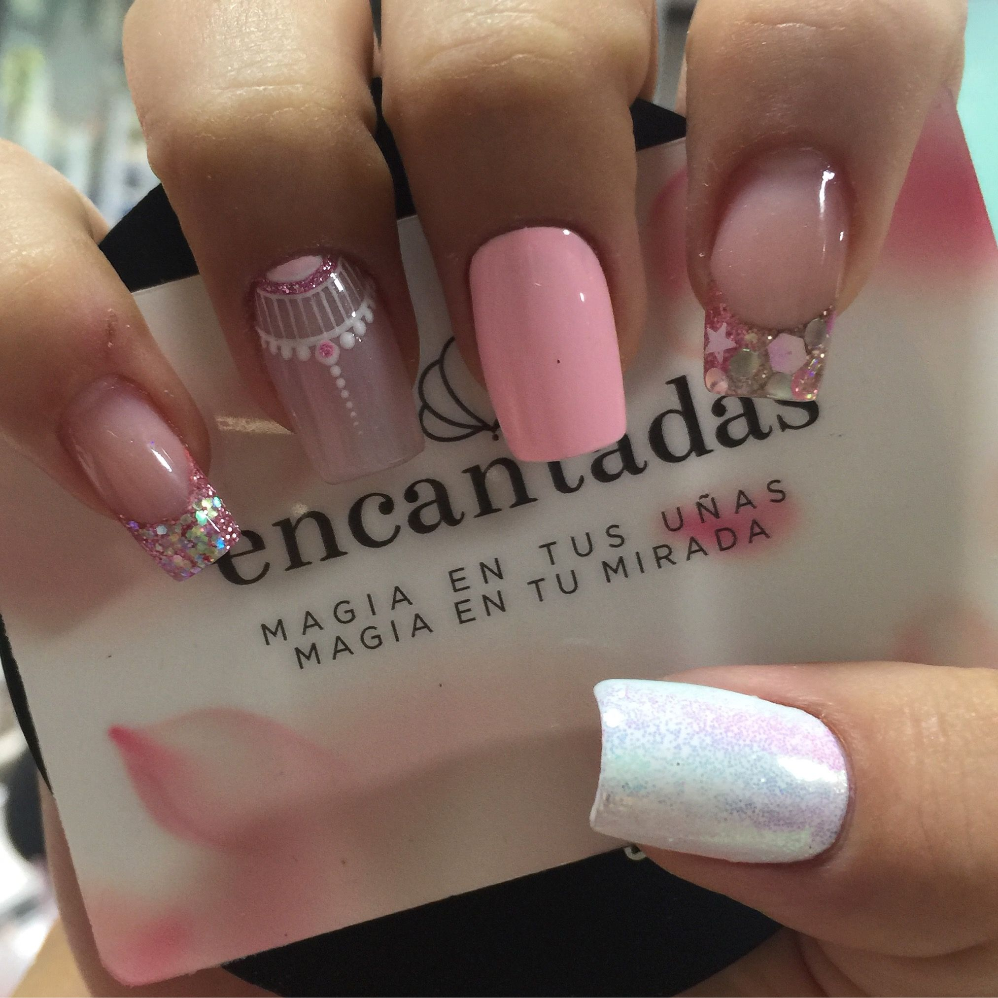 Uñas Semipermanentes Decoradas Pin De Marcela Dominguez En Nail Arts Pinterest White