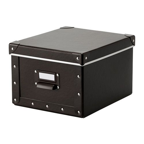 fj lla box mit deckel ikea zum aufbewahren von ladeger ten fernbedienungen usb sticks und. Black Bedroom Furniture Sets. Home Design Ideas