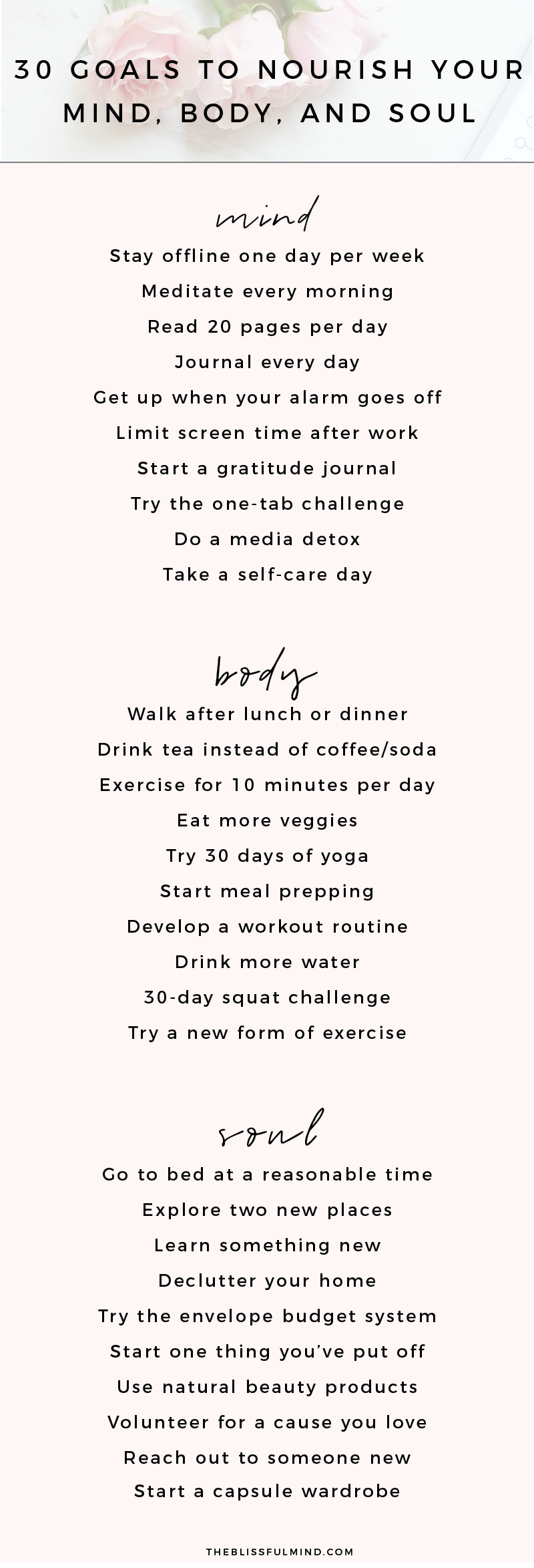 If you love setting goals for yourself and need some personal goal examples, this…