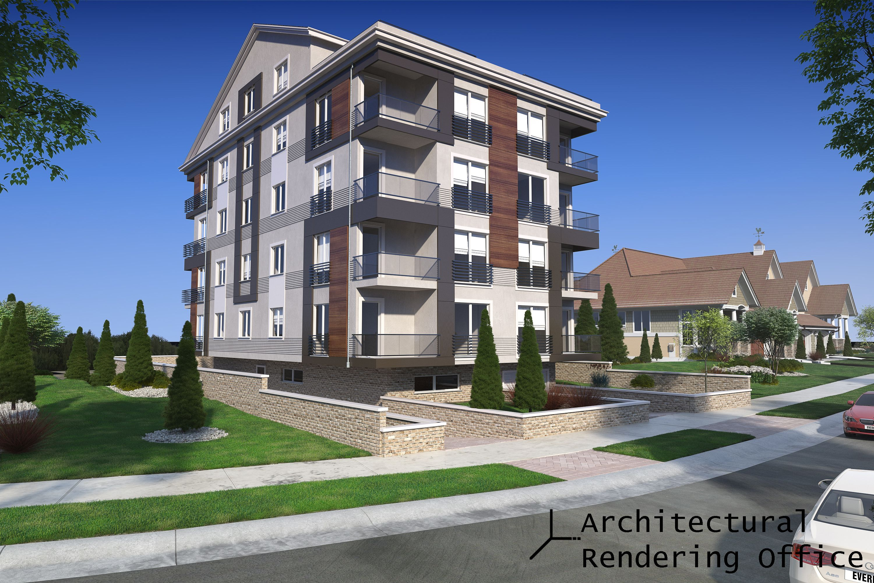 ARCHITECTURAL RENDERING OFFICE HAS BEEN OFFERING 3D