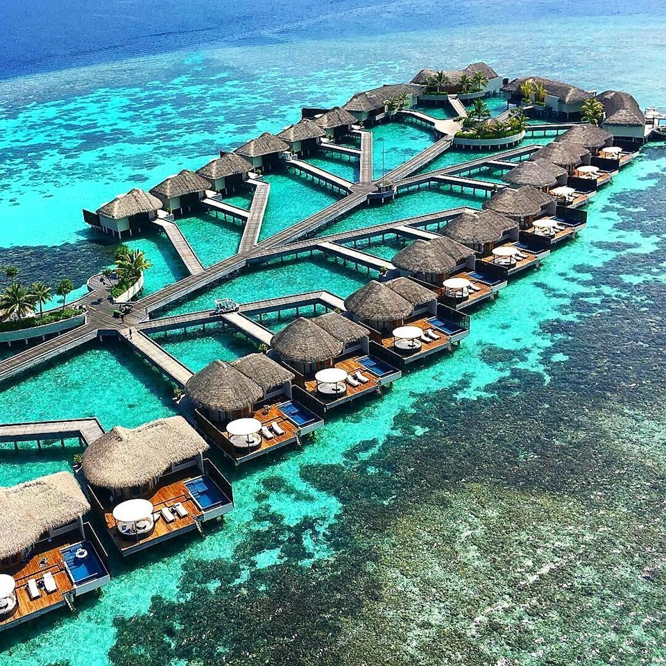 Places To Visit In Summer Vacation In South India: Overwater Villas At W Maldives Private Island