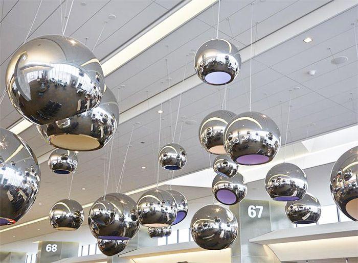 20 Airport Art Installations That Wow Travelers Installation Art