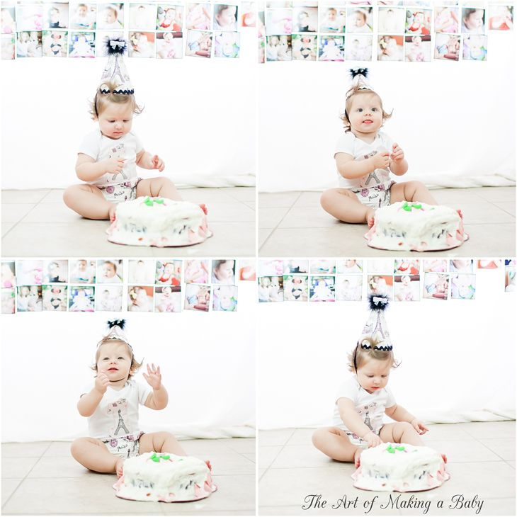 First Birthday Party Smash Cake First Birthday Party