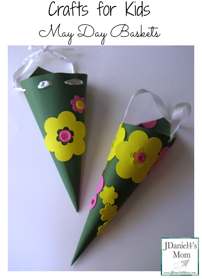 Crafts For Kids May Day Baskets Mayday Crafts Bloggers Fun