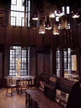 Mackintosh Library At The Glasgow School Of Art Glasgow School Of Art Charles Rennie Mackintosh Glasgow School
