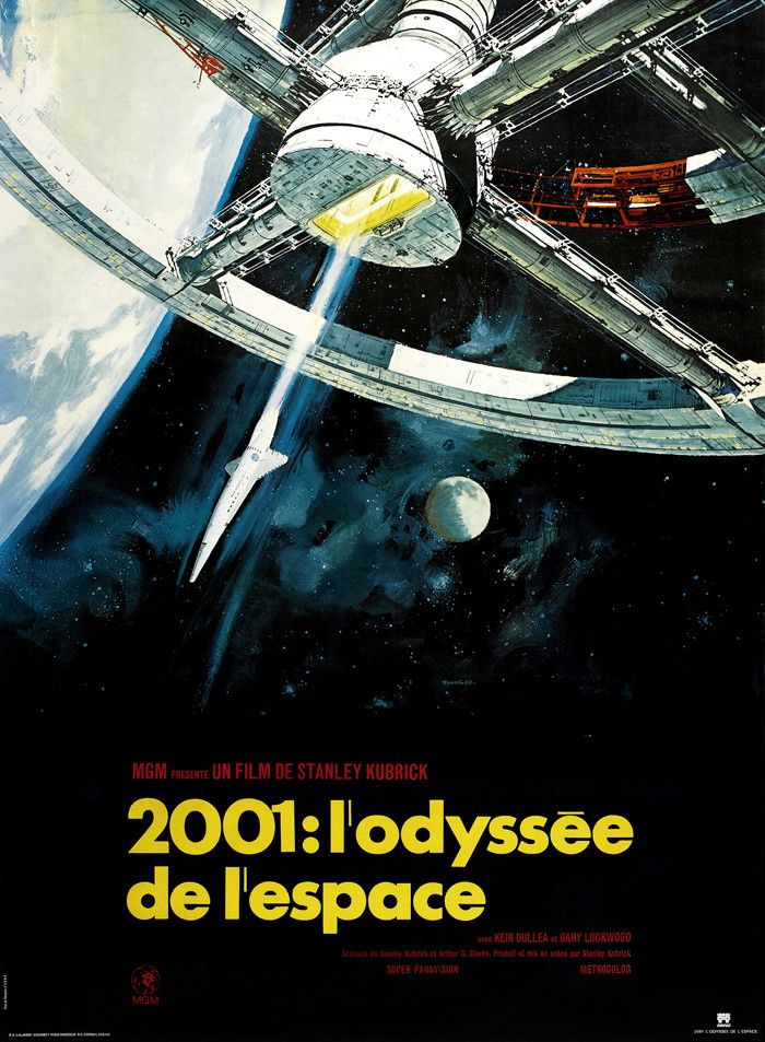 2001 L Odyssee De L Espace Stanley Kubrick Odyssee Film Film Culte A Voir