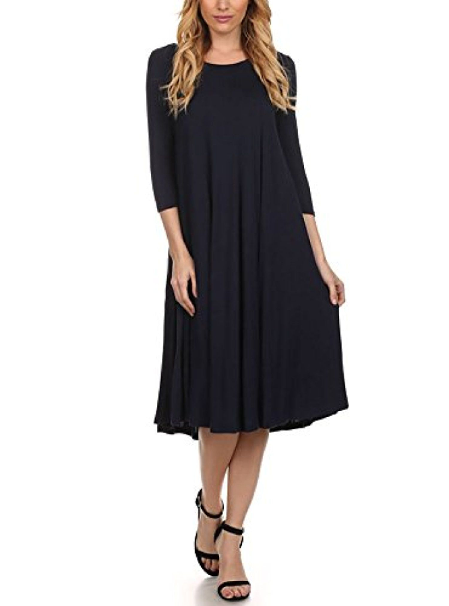 Modern Kiwi Long Sleeve Flowy Maxi Dress Navy 2x Awesome Products Selected By Anna Churchill Long Sleeve Flowy Maxi Dress Midi Maxi Dress Dresses [ 2022 x 1500 Pixel ]