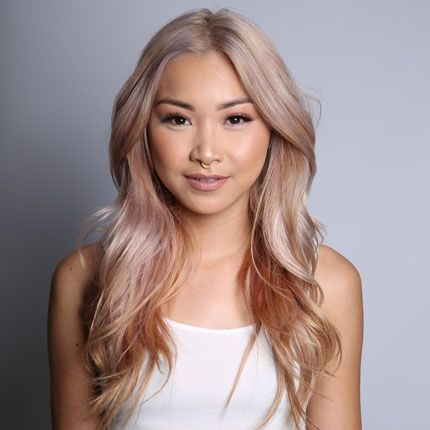Beautiful Rose Gold Blonde Hurrrrrr Pinterest Hair Blonde