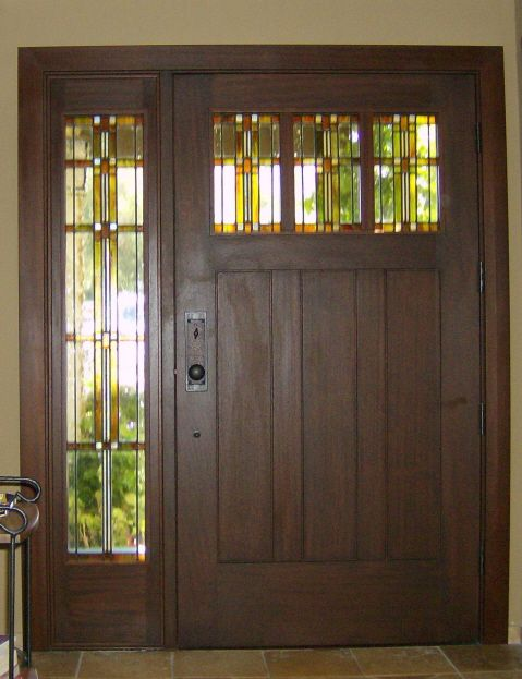 Love Craftsman Style And Stained Glass My Home Style