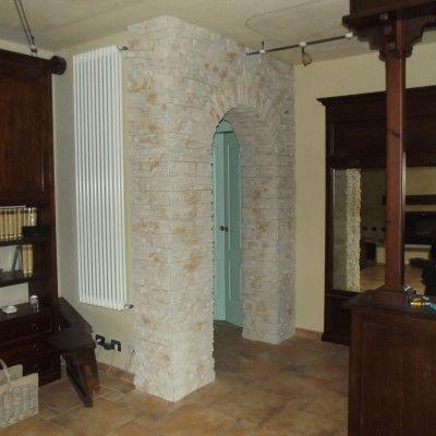 muri interni in pietra ricostruita - Cerca con Google  muri  Pinterest