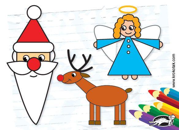 Comment Dessiner Père Noël Krokotak Noël Dessin