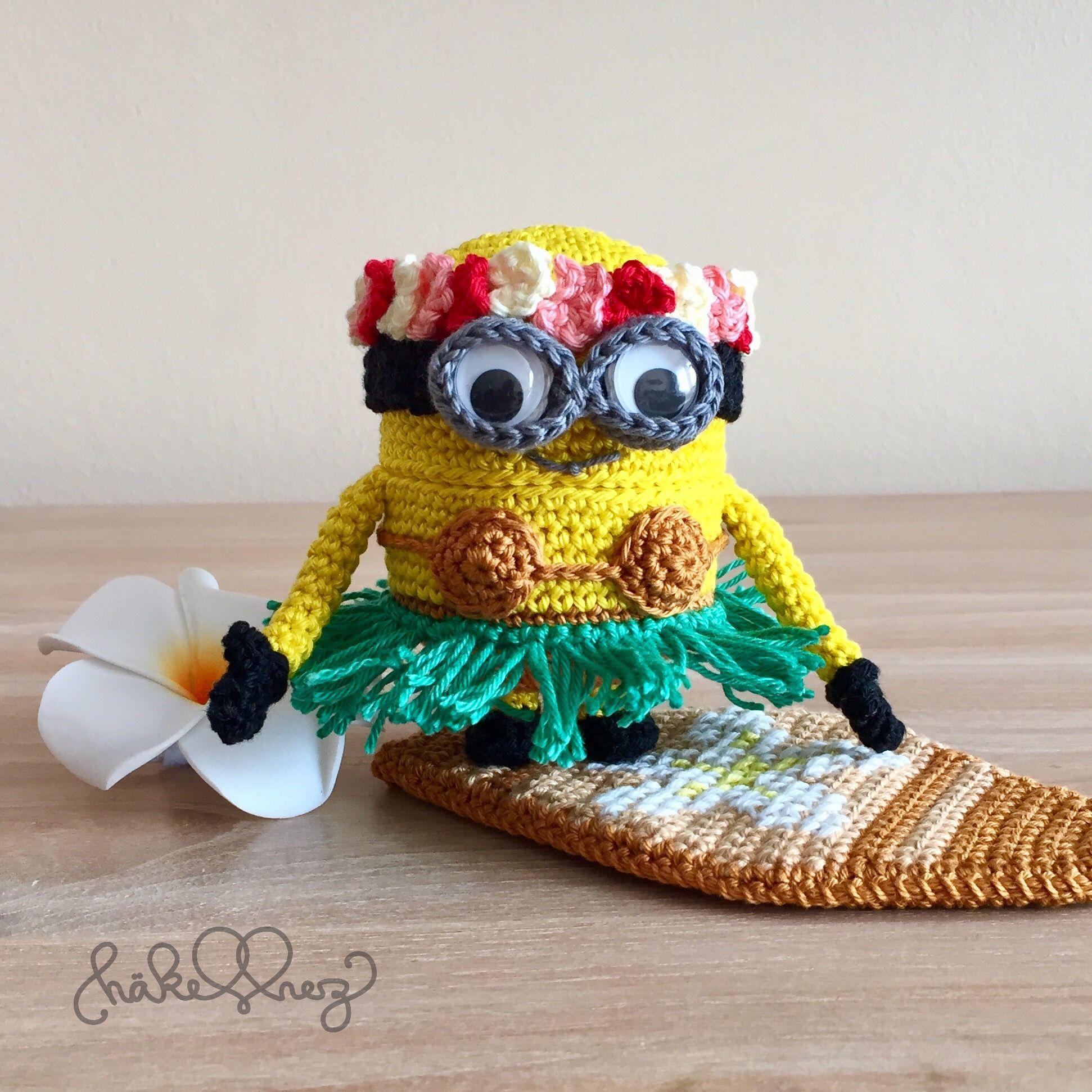 Aloha crochet minion amigurumi pinterest crochet minions aloha crochet minion bankloansurffo Choice Image