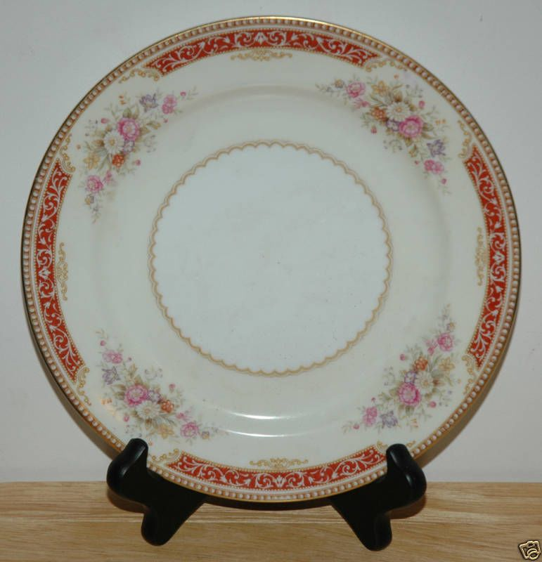 Antique China Patterns Value | NORITAKE CHINA SALAD PLATE PATTERN ...