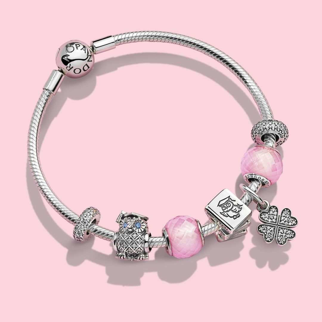 Inspired By Excellence Dedication And Success And Imbued With Deep Meaning Pandora S Beautiful Pandora Charm Bracelet Pandora Charms Inspirational Bracelets