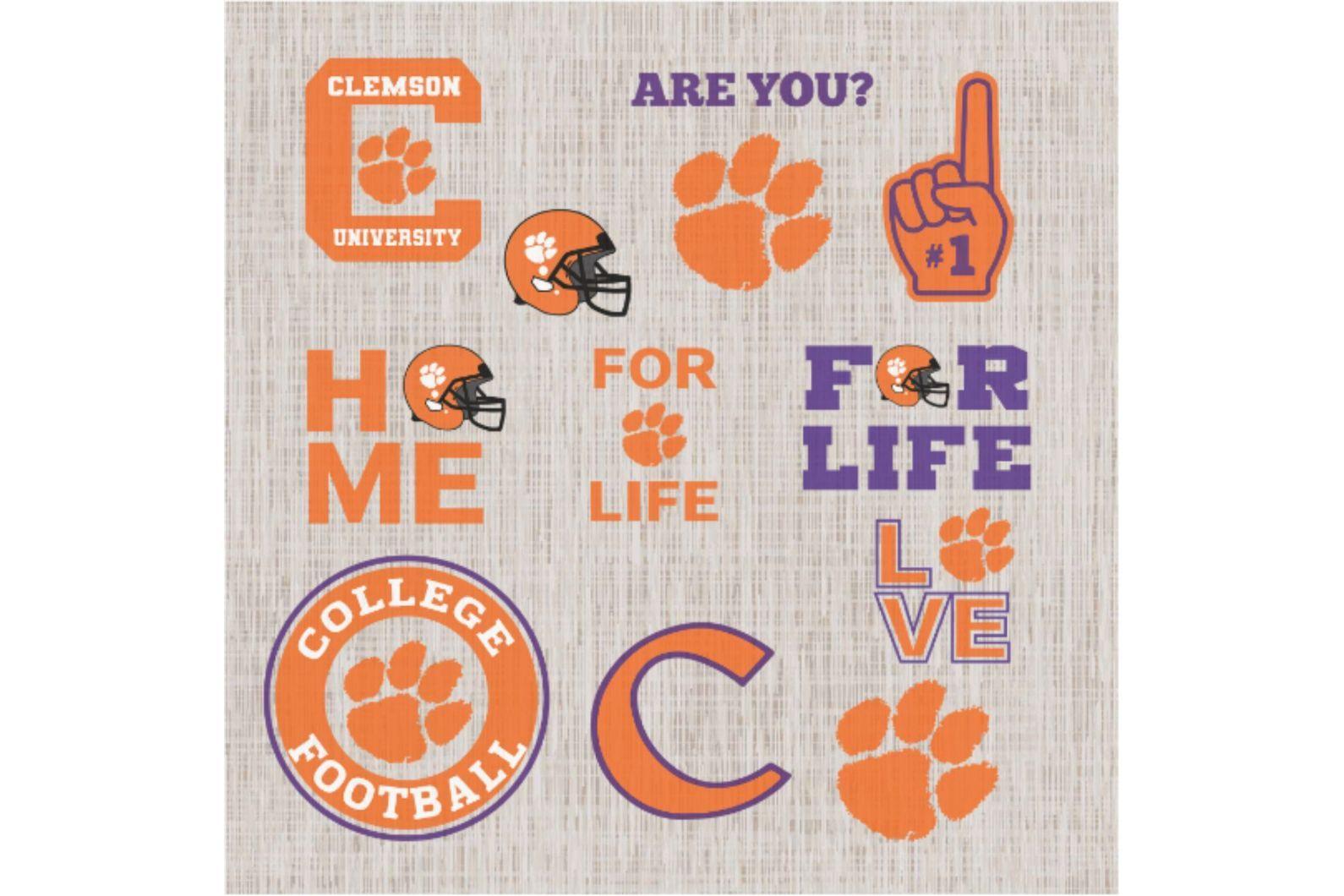 Clemson Tiger Svg Football Svg Football Gift Clemson University Clemson Football Clemson Tiger Fo In 2020 Svg Football Gifts Football Team Logos