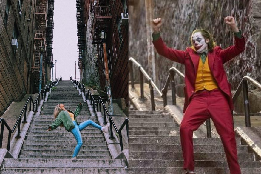 One of the most iconic scenes from Todd Phillip's Joker