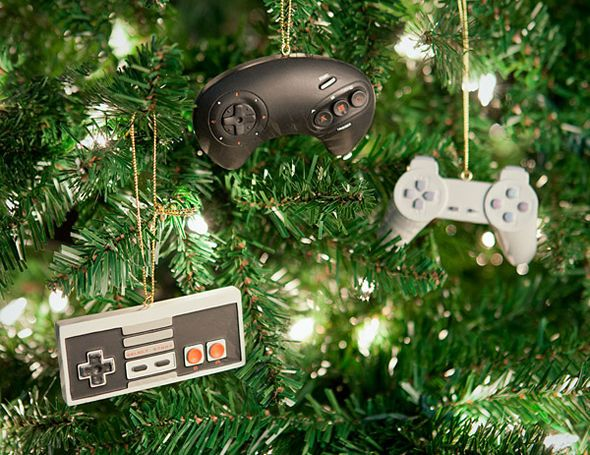 Geeky Game Tree Decorations Nerdy Christmas Geek Christmas Geeky Christmas Ornaments