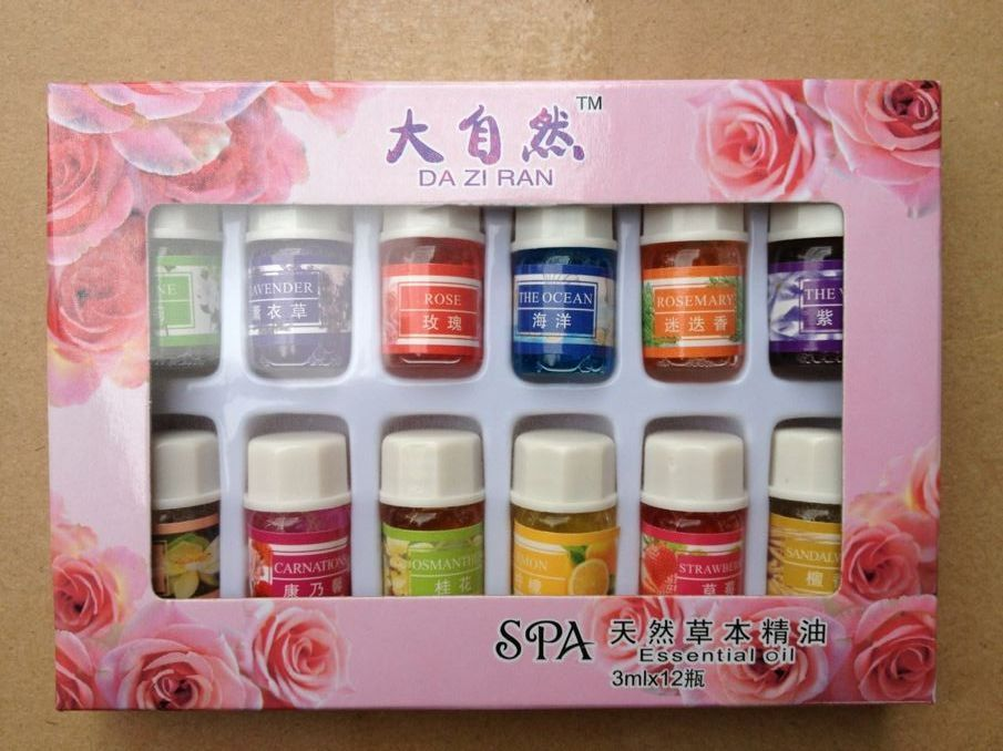 12pcs Brand New Essential Oils Pack For Aromatherapy Spa Bath