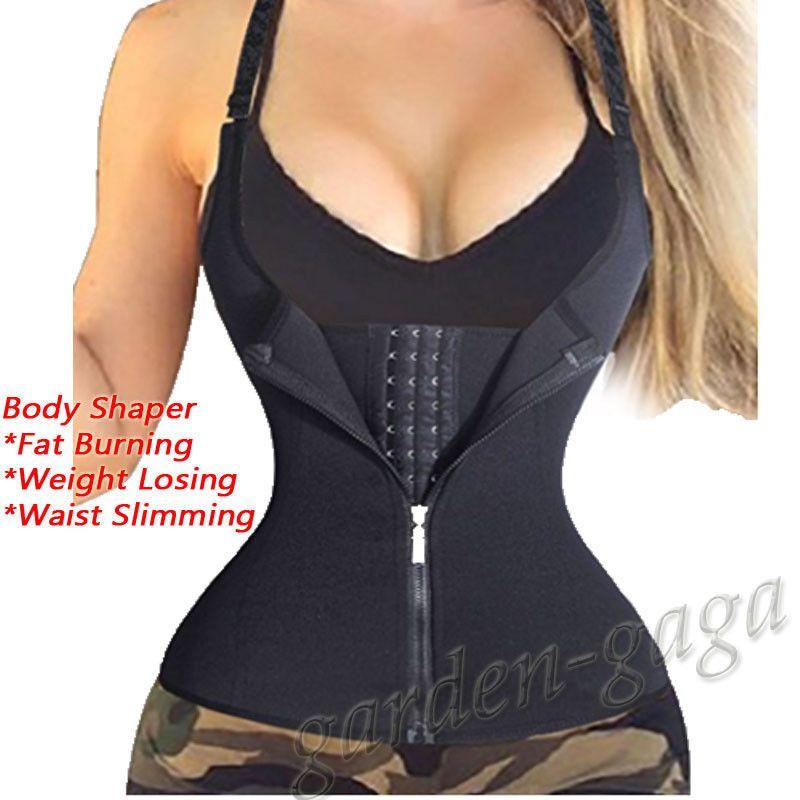 279b74fa4c Hot Girl Waist Trainer Belt Zipper Body Shaper Corset Girdle Slimming  Bustier Uk  ebay  Fashion