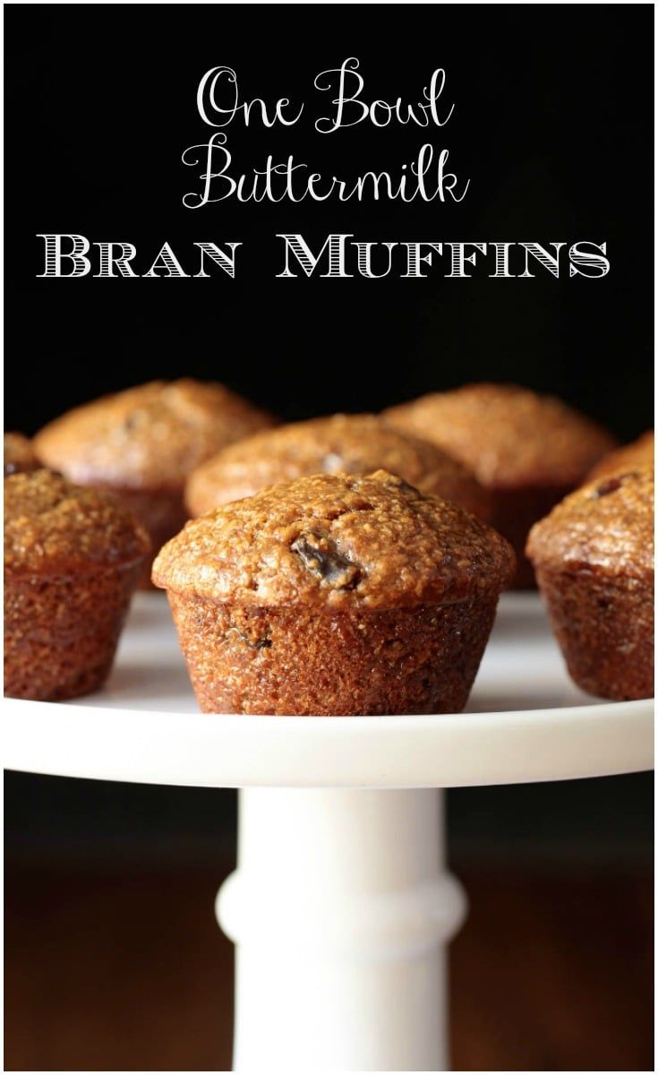 One Bowl Buttermilk Bran Muffins Recipe Bran Muffins Buttermilk Bran Muffins Bran Muffin Recipes