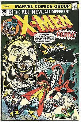Uncanny X Men 94 Rare Comic Books Marvel Comic Books Marvel Comics Covers