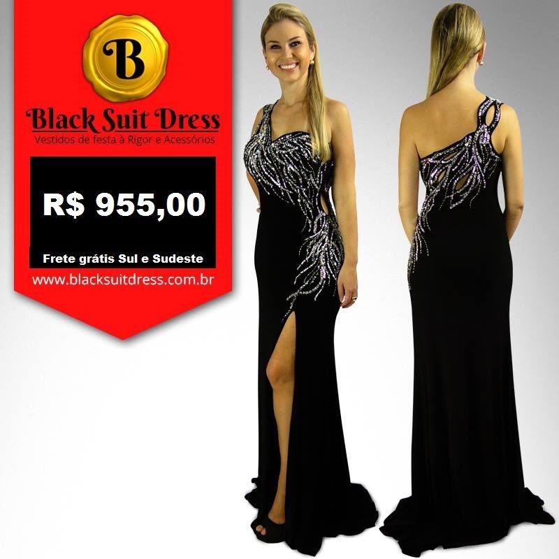 Aproveite 40% de desconto no site www.blacksuitdress.com.br #vestidodefesta #promoção #sale #luxo #brilho #formatura #debutante #casamento #festa