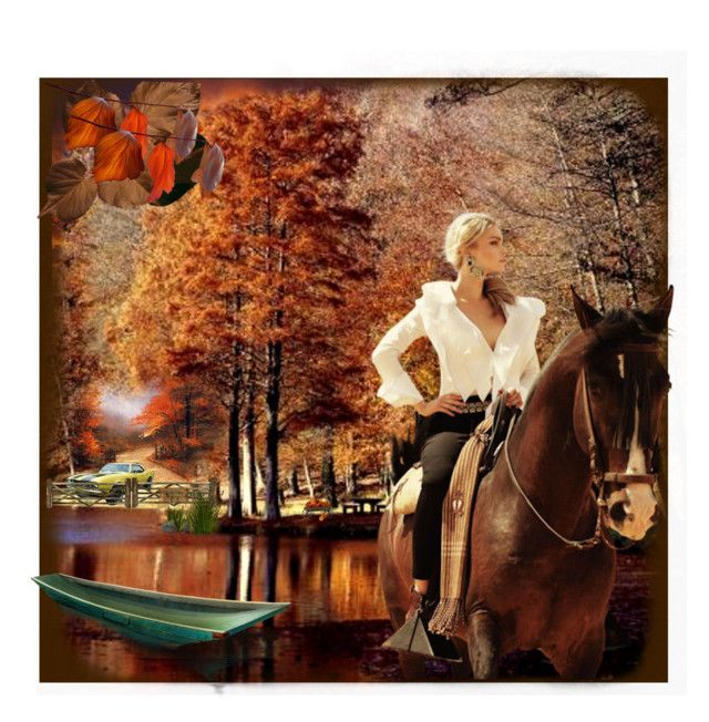 """Sunday Afternoon Ride"" by summersunshinesk7 ❤ liked on Polyvore featuring art, country, camaro, horseback and sundayafternoon"