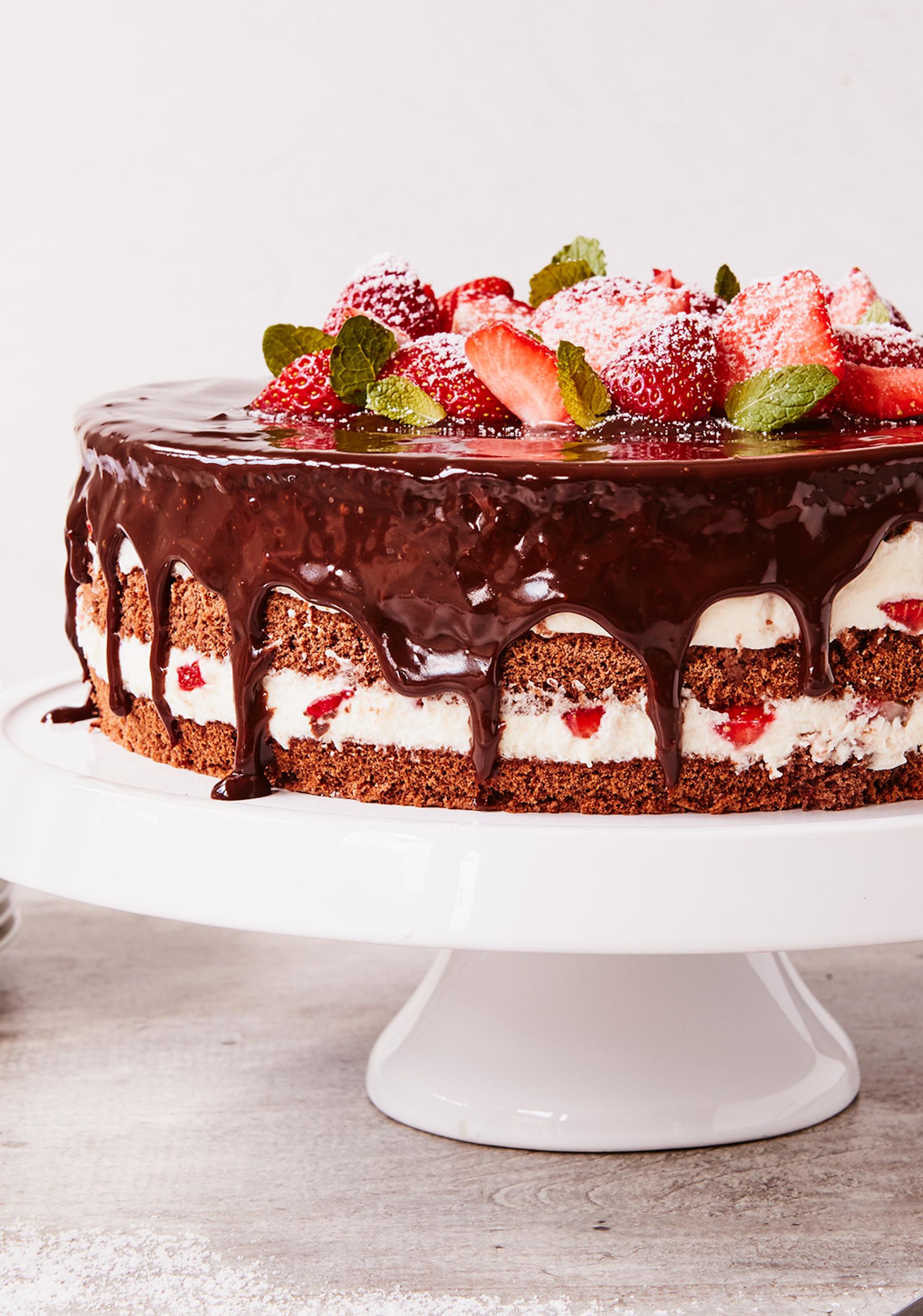 43+ Erdbeer schoko sahne torte Trends