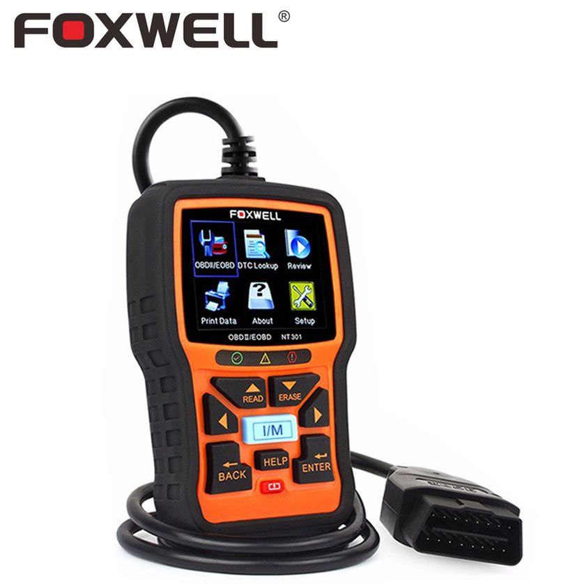 FOXWELL NT301 OBD 2 Automotive Scanner Car Engine Analyzer