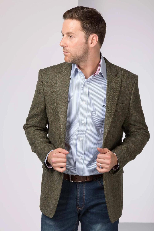 Men S Green Tweed Jacket Millington Tweed Jacket Jackets Jackets Uk