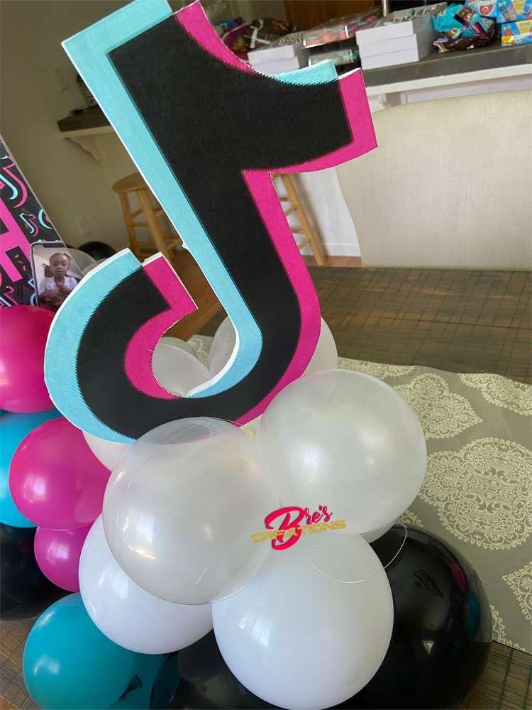 Tiktok Inspired Theme Birthday Party Ideas Photo 20 Of 27 Birthday Party Themes 13th Birthday Party Ideas For Girls Birthday Party For Teens