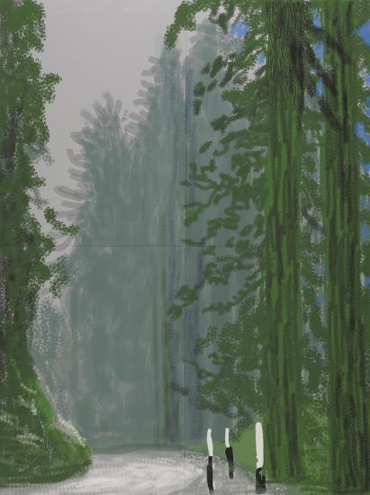 Image result for hockney yosemite paintings