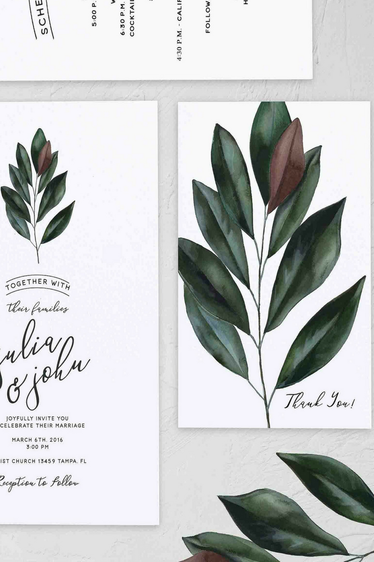 Magnolia Leaf Clipart Instant Download Magnolia Flower Etsy Leaf Clipart Painted Leaves Watercolor Leaves