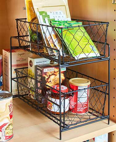 2-Tier Country Storage Baskets