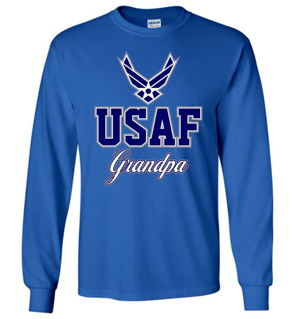 U.S. Air Force Grandpa Long-Sleeve T-Shirt