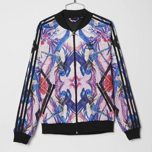 Shop the Long Track Jacket Multicolor at us