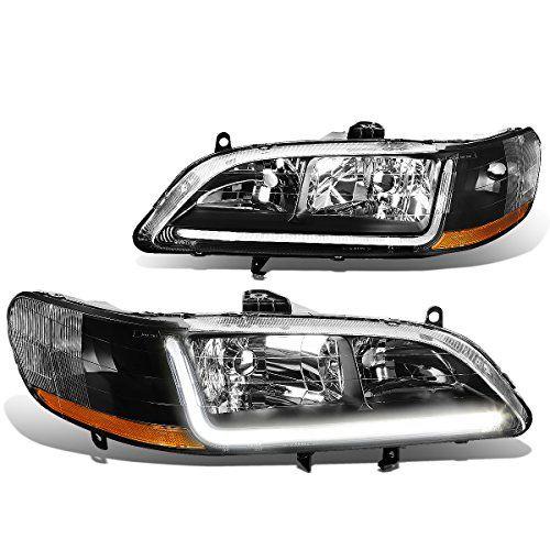 Dnamotoring Hllbha98bkab Headlight Assembly Driver And Passenger Side For More Information Visit Image Affili Toyota Corolla Honda Accord Honda Accord Coupe