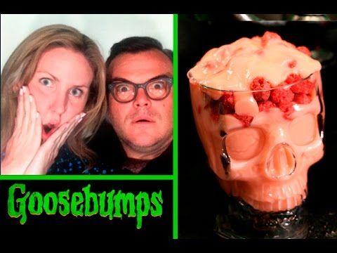 Goosebumps Halloween Treats with RL Stine (aka JACK BLACK - halloween movie ideas