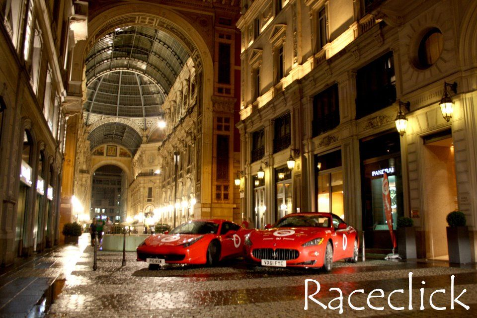 Cash & Rocket (RED) Tour - Park Hyatt Milano, 9 June 2012