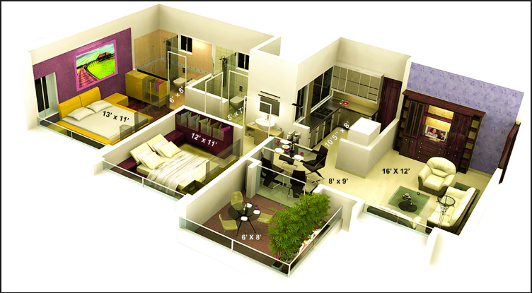 1000 Sq Ft House Design In India In 2020 Bungalow House Design