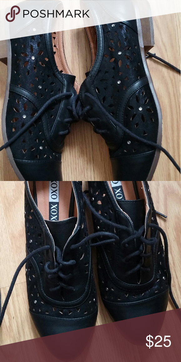 Shoes size 8 Super cute size 8 wore 1x XOXO Shoes Flats & Loafers